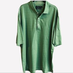 Jack Nicklaus Golf Green Polo Shirt Top Size L